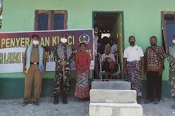 Kodim Timor Tengah Selatan Bangun Rumah Layak Huni Bagi Janda Miskin di Ofu