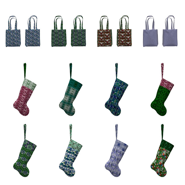 Adorable New Christmas Stockings and Tote Bag Projects