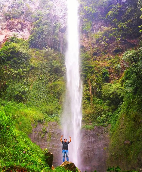 Wisata alam Air Terjun Kali Pancur Semarang