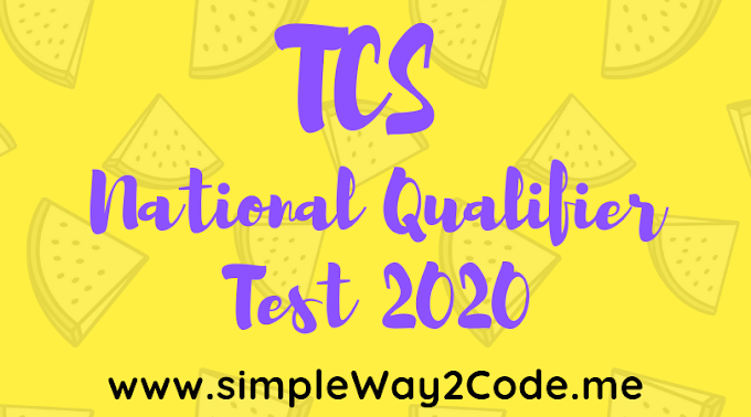 TCS NQT 2020 Batch - National Qualifier Test |  TCS Recruitment 2020 | [Updated]