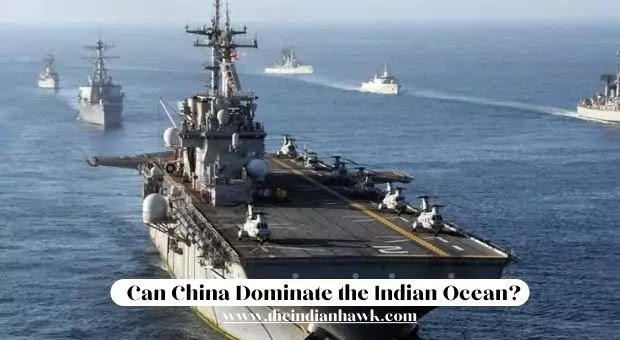 India-China Ships in Indian Ocean