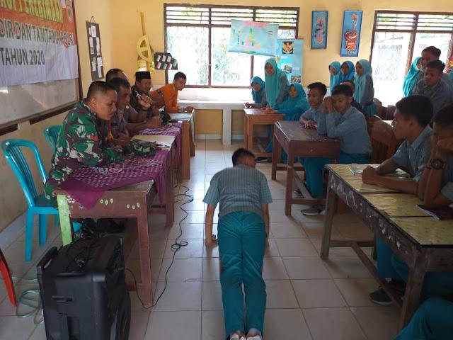 Kapolsek Balik Bukit Gelar Sosialisasi Penerimaan Anggota Polri di SMAN 1 Liwa