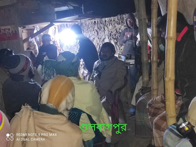 গঙ্গানন্দপুর ইউনিয়নে চেয়ারম্যান পদপ্রার্থী আমিনুর রহমানের  গনসংযোগ
