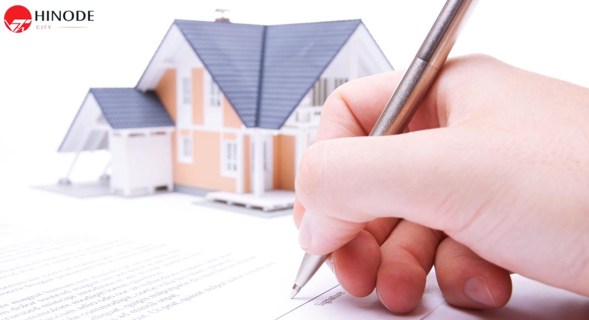 Quy trình mua bán căn hộ chung cư Hinode City