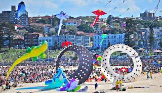 festival layang layang boneka di sydney