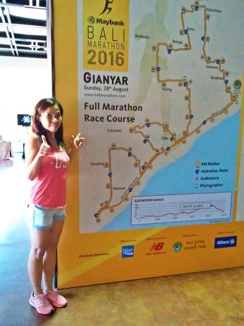 RACE PACK COLLECTION☆BALIMARATHON 2016