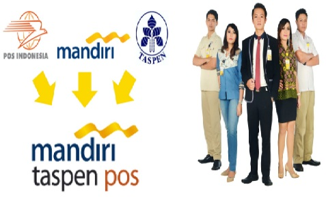 Lowongan Kerja PT Bank Mandiri Taspen Pos Tahun 2017