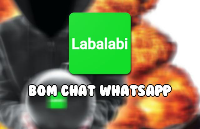 cara spam bom chat wa