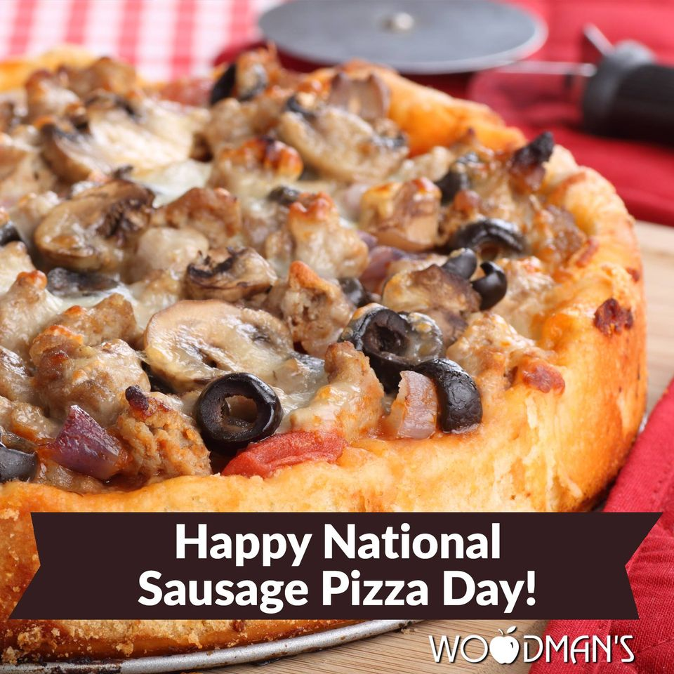 National Sausage Pizza Day Wishes for Instagram