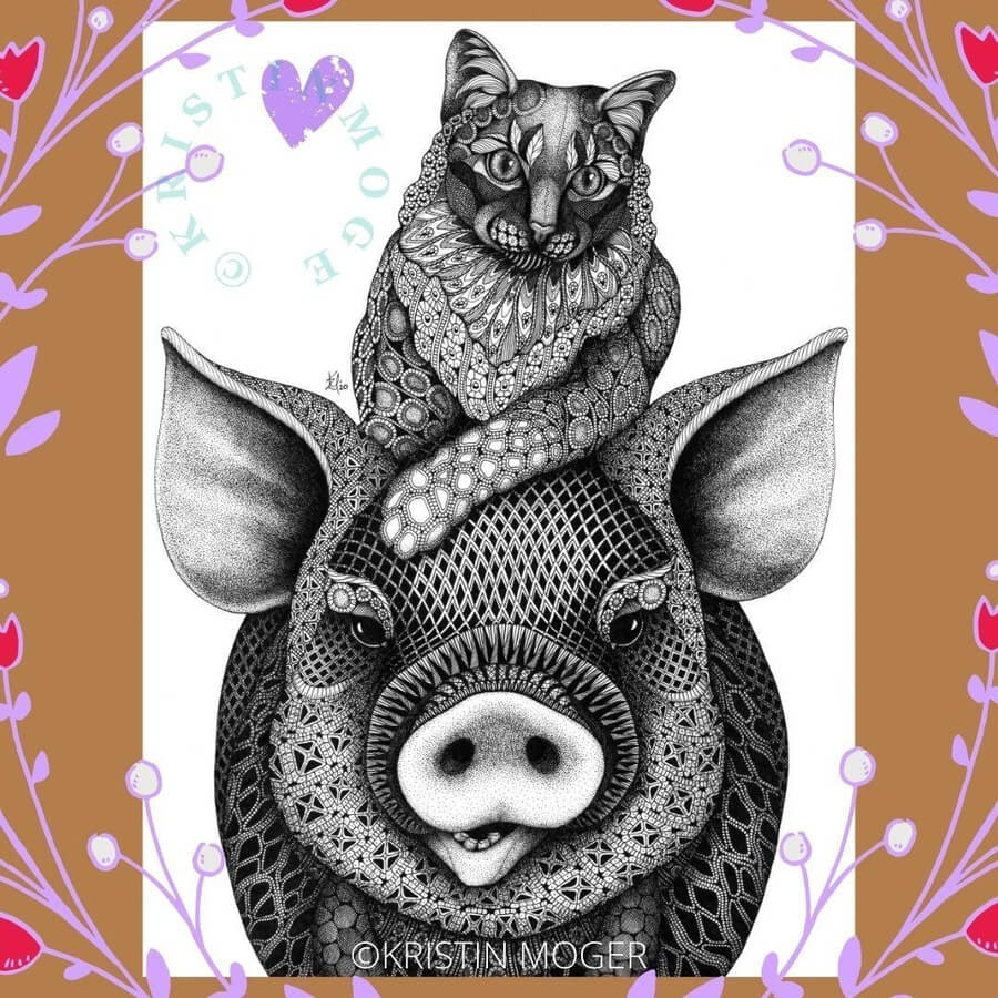 05-The-cat-and-the-pig-Kristin-Moger-www-designstack-co