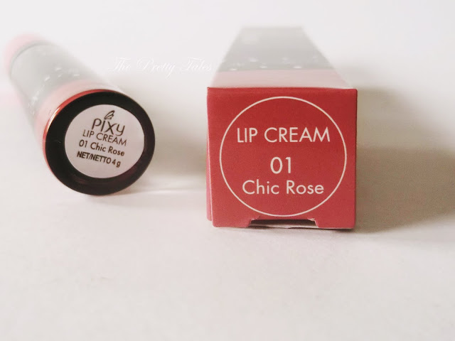 pixy lip cream 01 chic rose review