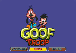 goof troop sega megadrive