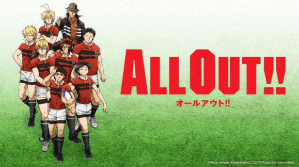 All Out - Daftar Anime Sport terbaik Sepanjang Masa