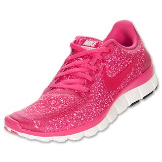Hot Pink Glitter Tennis Shoes
