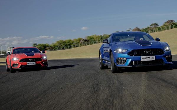Ford Mustang Mach 1 tem sons de pista e motor divulgados em vídeo