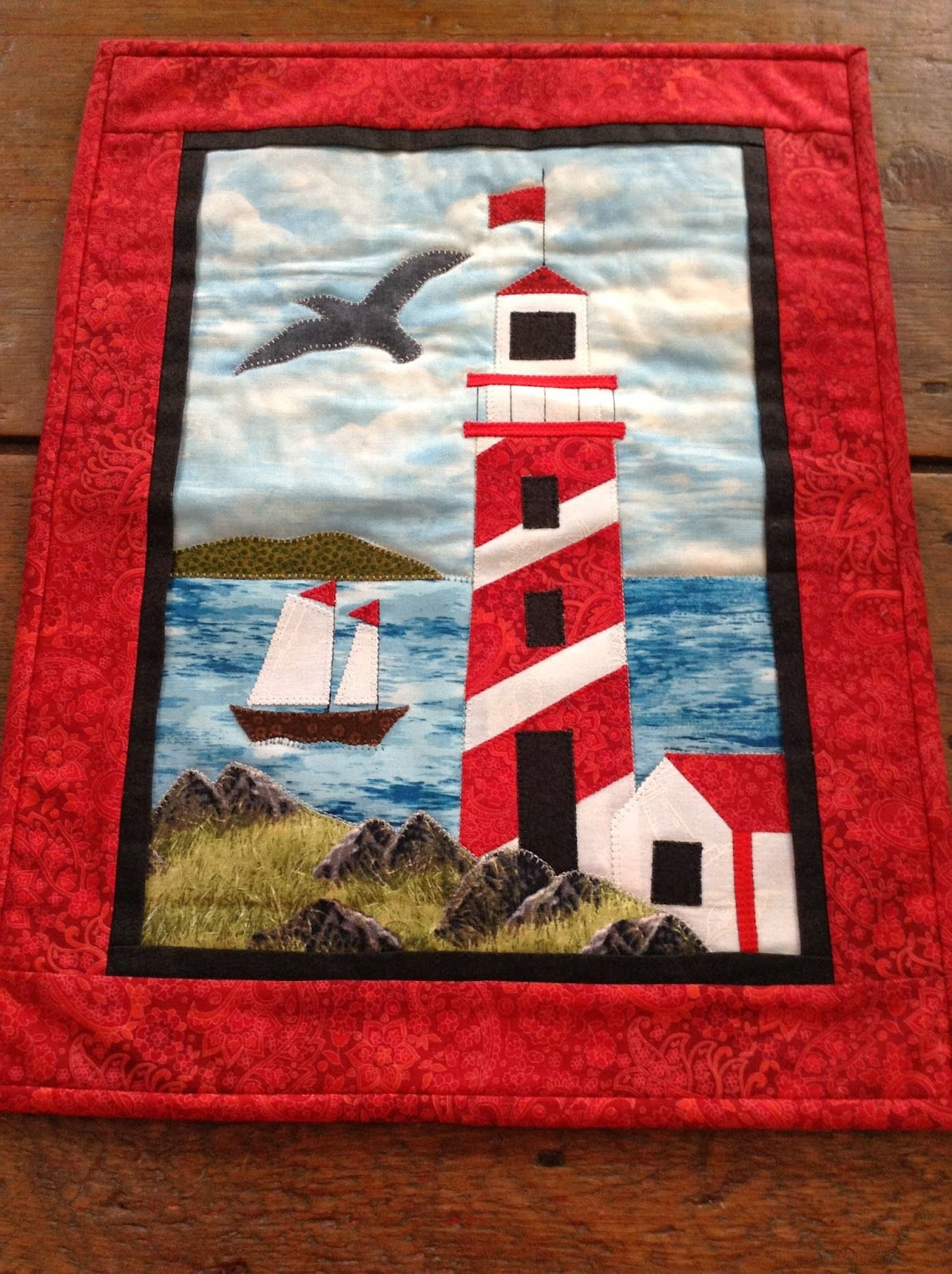 The Painted Quilt Lighthouse Series