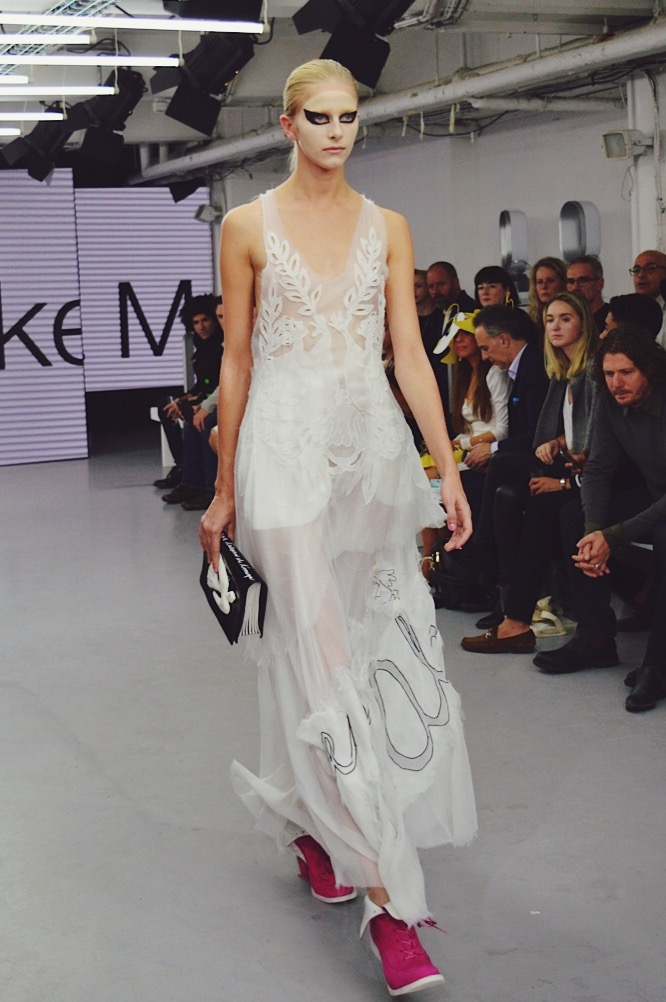 Marketa Martisova, London Fashion Week SS16, FashionFake, fashion bloggers