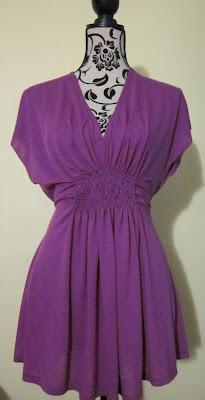 BWOF Molde de costura túnica minivestido talla 44