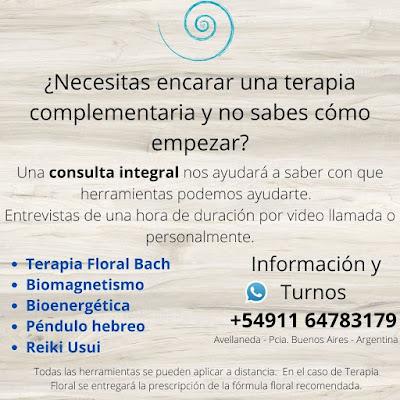 Consulta Integral terapias complementarias