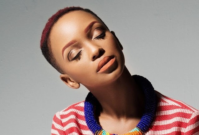 Nandi Madida Receives A Gift From Beyoncé