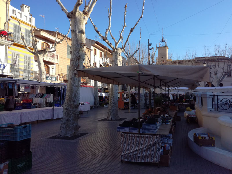 Il mercato domenicale