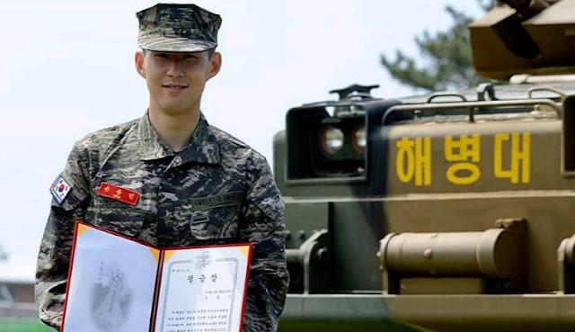 ¿Por qué Son tuvo que ir a la milicia en Corea?