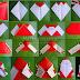 Origami Papa Noel