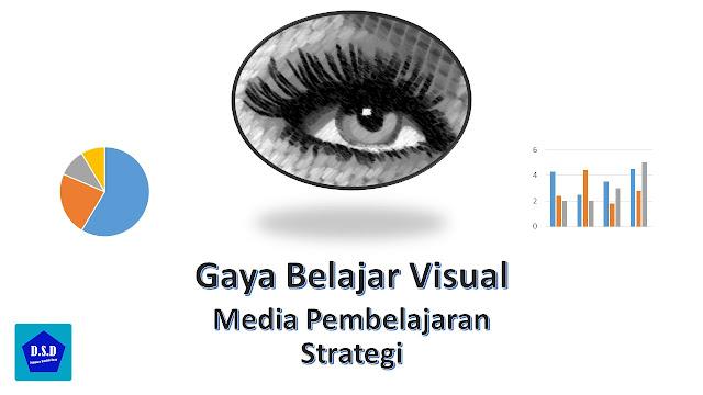 gaya belajar visual, media pembelajaran yang cocok untuk siswa, dan strategi yang tepat