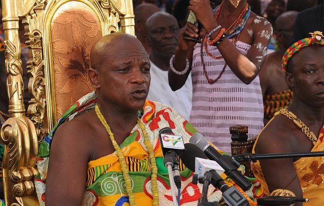 Togbe Afede XIV Elected National House Of Chiefs President