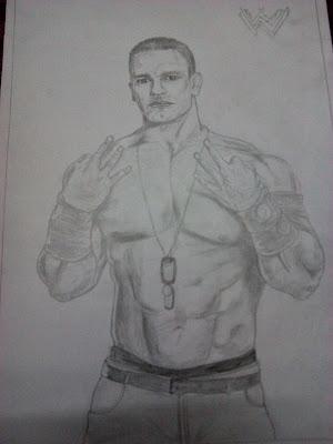 John Cena - pencil sketch