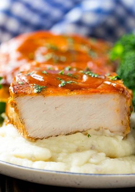 Honey Garlic Pork Chops (Slow Cooker)