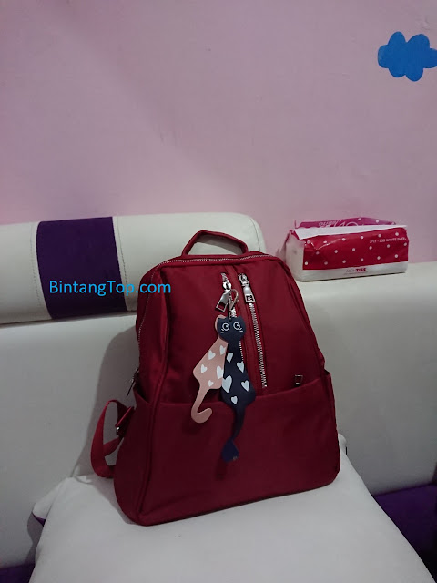 Tas Fashion - Type Kucing - Merah
