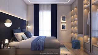 Master Bedroom Interior Rumah Cendana Homes Tipe Garden Veranda (1)