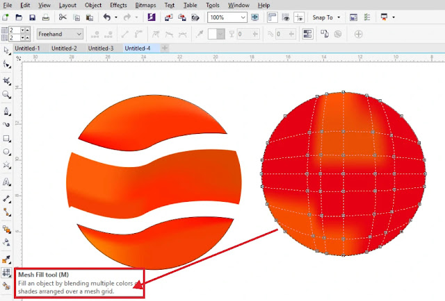 Fill dan Outline : Cara Mudah Mewarnai Objek Di Corel Draw