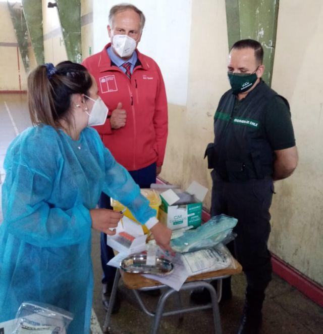 Vacunación en Gendarmería