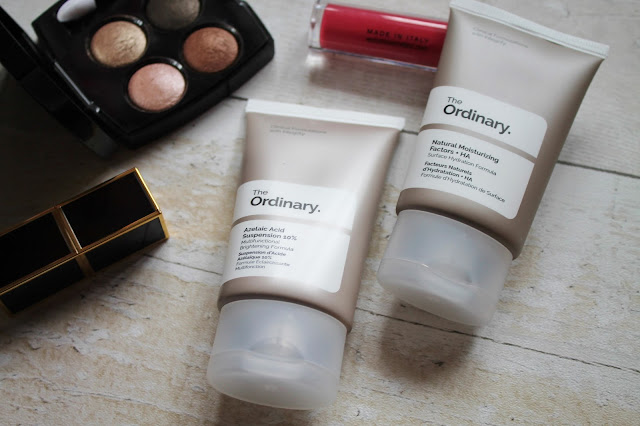 The Ordinary Natural Moisturising Factors and Azelaic Acid
