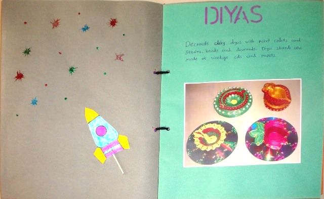 how to decorate your homework book my child of diwali scrapbooking ideas for 13508