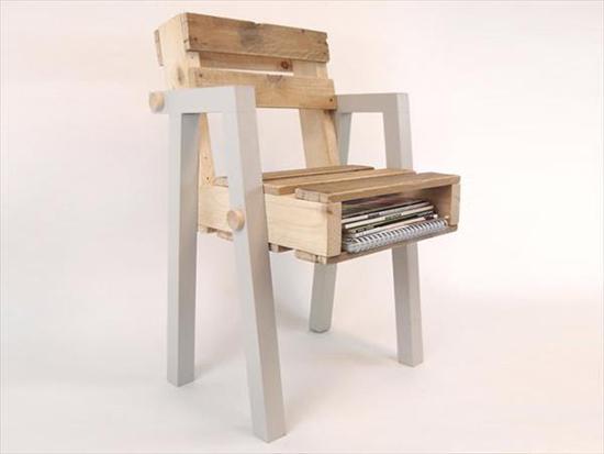 Desain kursi palet minimalis bagian