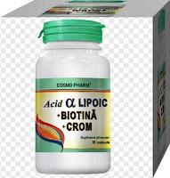 pareri acid alfalipoic cu biotina si croma
