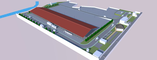 industrial park site plan