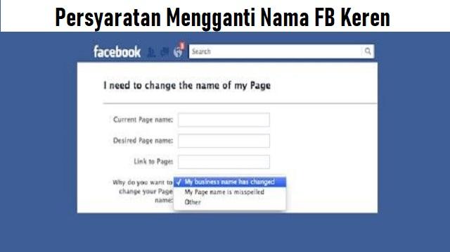 Nama FB Keren