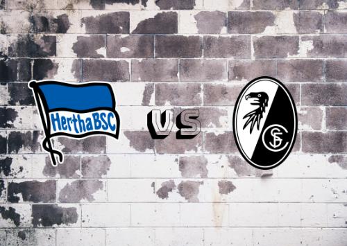 Hertha BSC vs Friburgo  Resumen