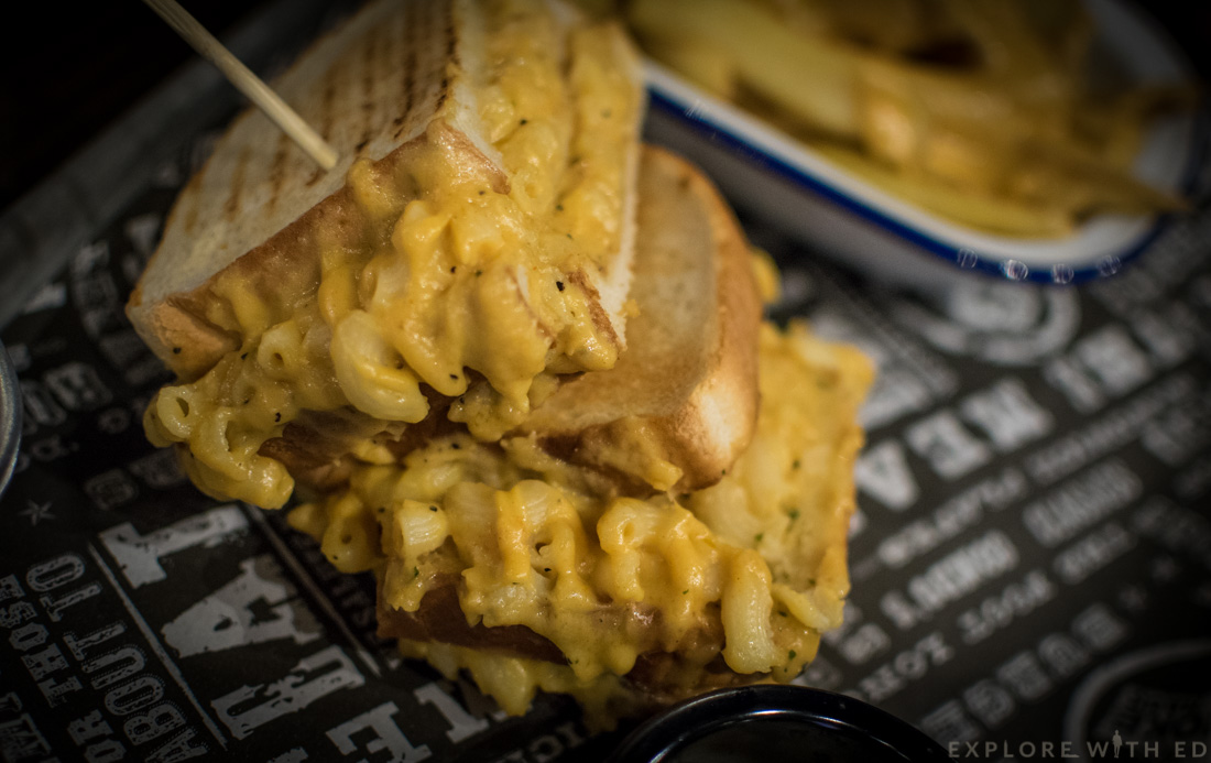 The Smoke Haus Birmingham Mac 'n' Cheese Grilled Sandwich