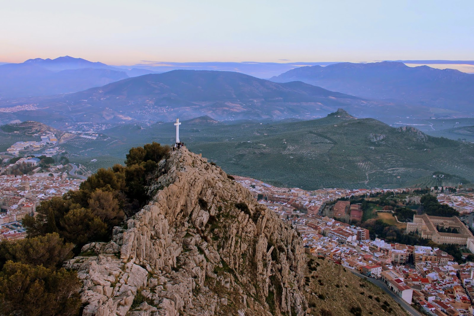 La Cruz en el Cerro de Santa Catalina en Jaén
