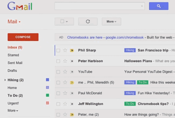New Lists and Chat layout