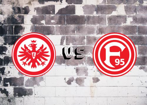Eintracht Frankfurt vs Fortuna Düsseldorf  Resumen