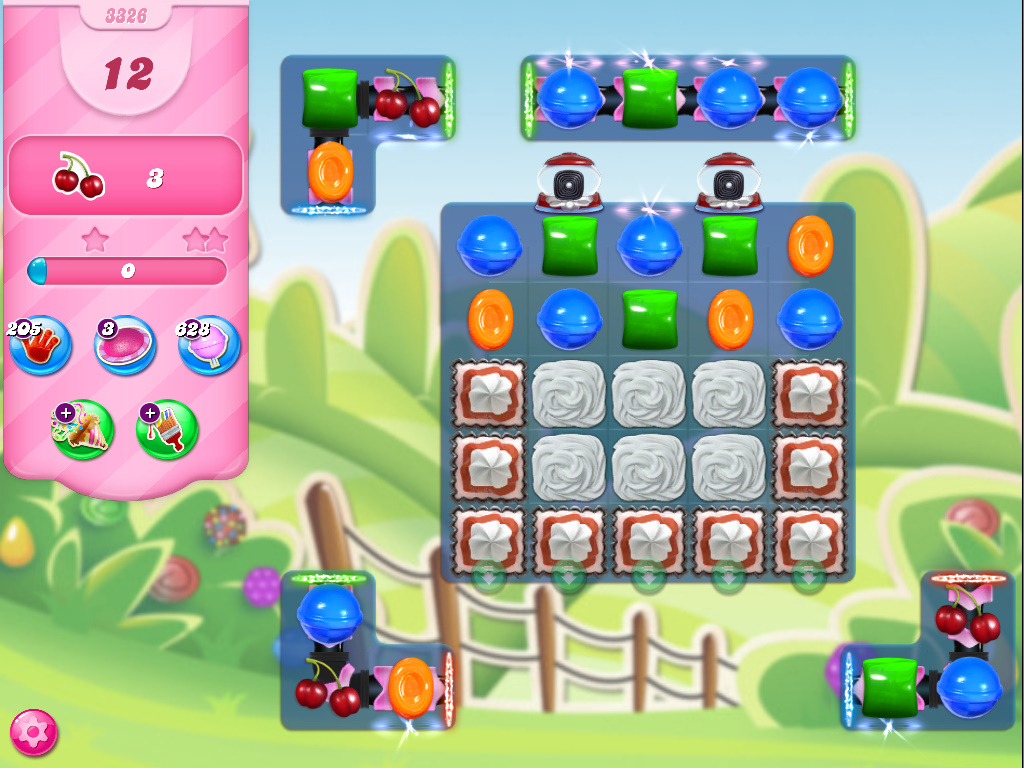 Candy Crush Saga level 3326