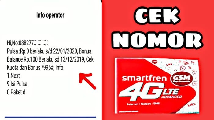 cara melihat nomor smartfren cara cek nomor smartfren