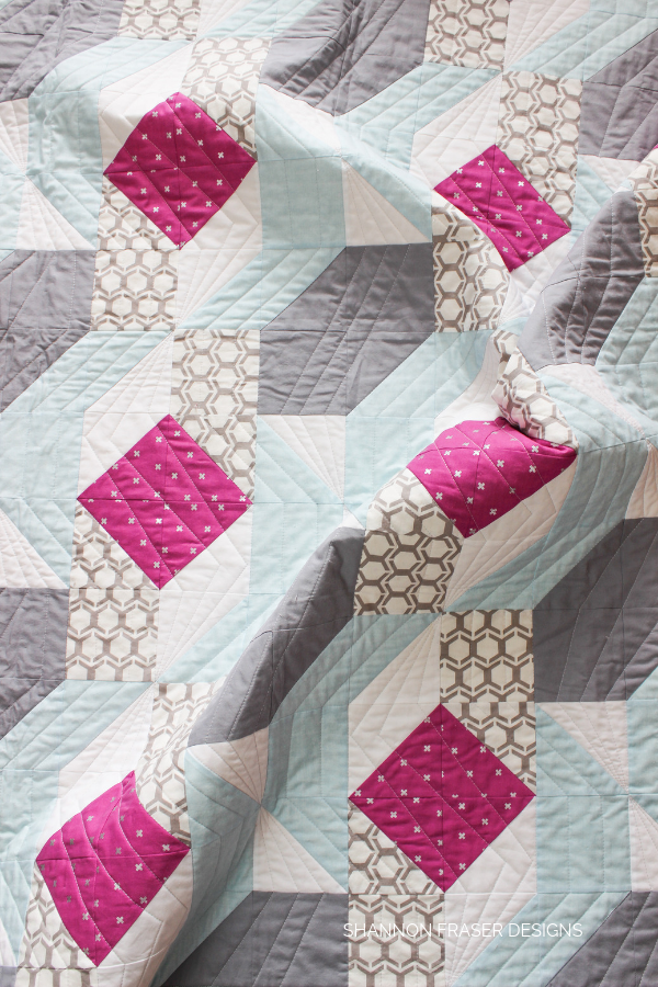 Rocksteady quilt | Q3 Finish-a-Long 2019 | Shannon Fraser Designs #quilt #quilting