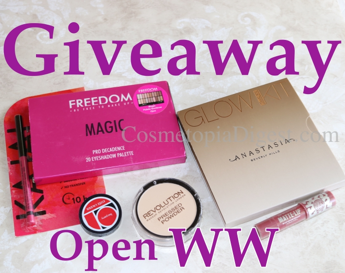 Summer Makeup Giveaway 2018 Open Worldwide Till September